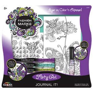 Fashion Marks Flirty Girl Journal It!