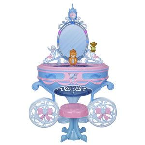 Cinderella Enchanted Carriage Vanity
