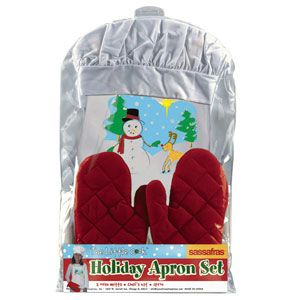 The Little Cook Holiday Apron Set