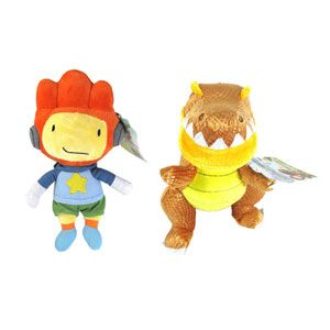 Scribblenauts 7-inch Stuffed Characters