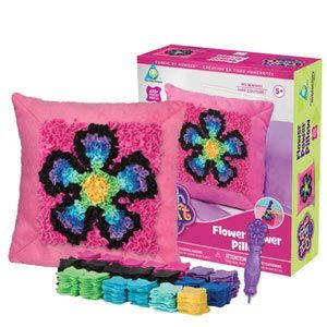 PlushCraft Flower Power Pillow