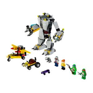 Teenage Mutant Ninja Turtles Baxter Robot Rampage