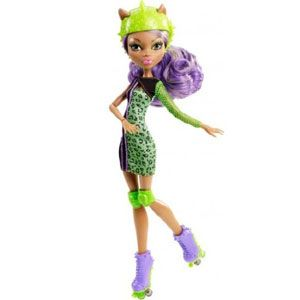 Monster High Skultimate Roller Maze Clawdeen Wolf