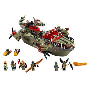 LEGO Legends of Chima Cragger's Command Ship