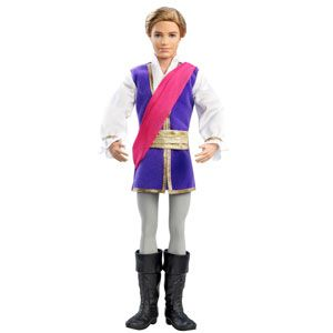 Barbie in the Pink Shoes Ken as Prince Siegfried