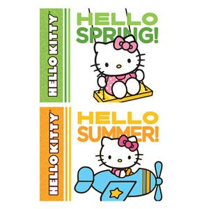 Hello Kitty, Hello Spring! & Hello Kitty, Hello Summer!