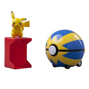 Pokemon Catch 'n' Return Pokeball-Pikachu and Quick Ball