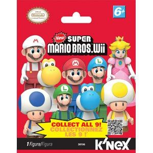 Super Mario Bros. Wii Mystery Figure Bags Series 1