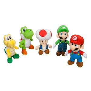 Super Mario Bros. Stuffed Characters