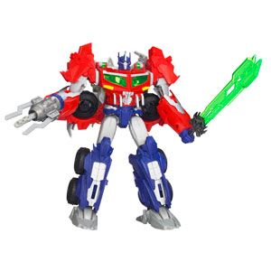 Transformers Prime Beast Hunters Voyager Class Optimus Prime