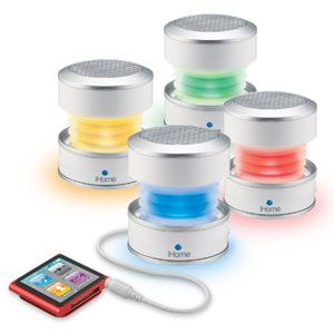 Glow Tunes Portable Rechargeable Mini Speaker