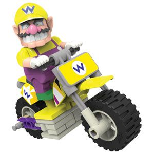 Mario Kart Wii Wario Bike Building Set