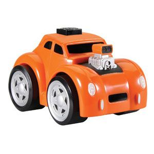 Twist n Go Orange Hot Rod