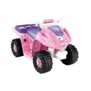 Power Wheels Disney Minnie Mouse Bow-tique Lil' Quad