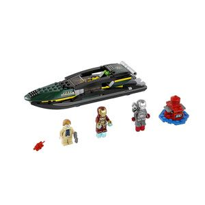 LEGO Marvel Superheroes Iron Man: Extremis Sea Port Battle