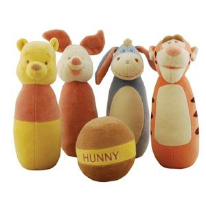 Disney Baby by Miyim Winnie the Pooh and Friends Bowling Set