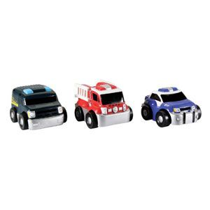 My First Rides Go Go City Rescue 3 Pack