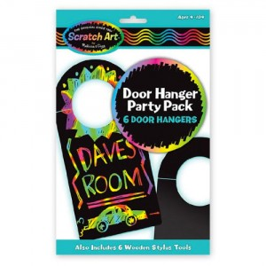 Scratch Art Door Hanger Party Pack